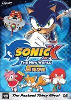 Sonic X: The New World Saga- Season 1- BRAND NEW DVD--FREE UPGRADE TO 1ST CLASS