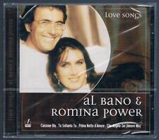 AL BANO & ROMINA LOVE SONGS CD F.C. NUOVO SIGILLATO!!!