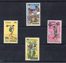 Nigeria Deportes olimpiada de Los Angeles año 1984 (CP-562)