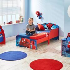 Marvel Spider-Man Kids Toddler Bed Frame Childs Furniture Side Guards Gift New