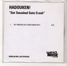 (EN467) Hadouken! Get Smashed Gate Crash - DJ CD
