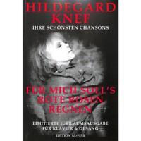 Hildegard Knef - Ihre schönsten Chansons - Songbook [Musiknoten]