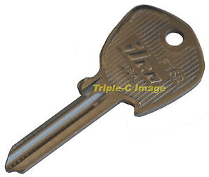 WS Ignition Key blank for your Triumph , Jaguar, Jensen and more FZ keyway