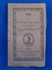 VIE DE SAINT VINCENT DE PAUL 1827