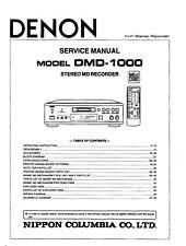 Service Manual For Denon DMD-1000
