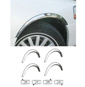 LINCOLN TOWN CAR Wheel Arch Trims Cover 4 pcs Chrome kit Front Rear Wings '98-03