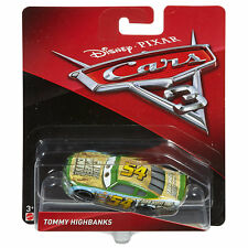 Character Options-Disney Cars 3-Diecast personaje-Tommy highbanks-Nuevo