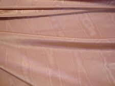 """ONE YARD CLASSIC MOIRE SATIN DRAPERY FABRIC TEA ROSE 54"""" x 36"""" BTY Mauve"""