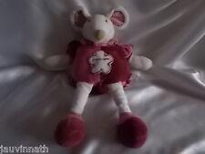 Doudou souris Framboisine, Doudou et compagnie (cie), 35 cm
