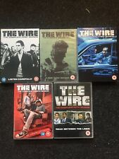 The Wire - Series 1-5 - Complete (DVD, 2008, 24-Disc Set, Box Set) Seasons 1-5.