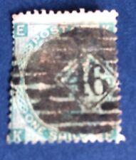 Grande Bretagne N° 24 1 S Vert Oblitéré TB Cote 175€