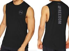 Under Armour * UA Freedom Threadborne Tank Black for Men
