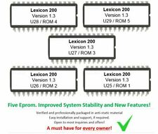 Lexicon Model 200 Firmware Update Upgrade eprom 1.3 [Latest OS] Reverberation