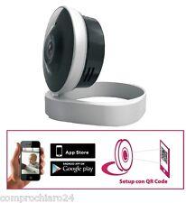 Telecamera Videosorveglianza WI-FI  con Visualizzazione su Tablet o Smartphone