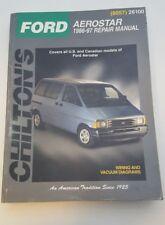 Chilton's Ford Aerostar 1986 - 96 Repair Manual Service (8057) 26100