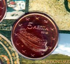 Grèce 2013 - 5 Centimes d'euro 20 000 exemplaires Provenant du coffret BU RARE -