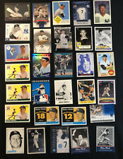 Huge Lot (30) Different MICKEY MANTLE Baseball card Lot w Inserts NY YANKEES