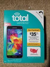Total wireless Samsung Galaxy S5 Brand New in retail box.