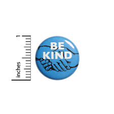 """Cool Button Be Kind Peace and Love Kindness Acceptance Anti No Hate Pin 1"""" 48-2"""
