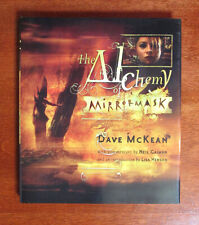 THE ALCHEMY OF MIRRORMASK Neil Gaiman & Dave McKean 1st Print HC 2005 Art Book
