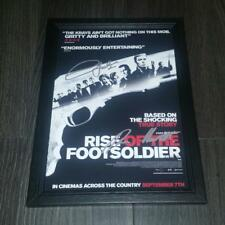 """RISE OF THE FOOTSOLDIERS PP SIGNED & FRAMED A4 12X8"""" PHOTO POSTER HOOLIGAN"""