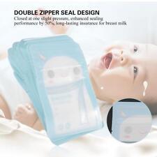 30*120ml Baby Breast Milk Storage Bags Freezer Food Breastfeeding Pouch BPA Free