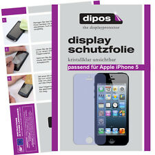 4x Apple IPhone 5 / 5S screen protector protection guard crystal clear