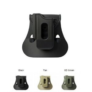 IMI New Black Green Desert Tan Single Mag Pouch for Ruger 40/9 89-95 Series,