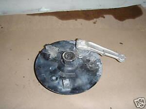 HONDA CR 125 1982 VINTAGE FRONT BRAKE BACKING PLATE