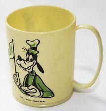 Disney Goofy Miniature Demi Tasse Vintage Plastic Mug