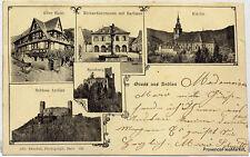 CPA  Precurseur GRUSS AUS ANDLAU 1903    scan ht def  Lae565
