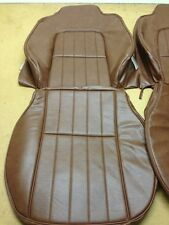 HOLDEN HJ HX HZ SANDMAN FRONT SEAT COVERS WITH WELDED FLUTS AS ORIGINAL 67 TAN