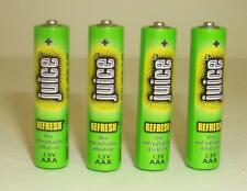 48 Juice Brand Rechargeable AAA Alkaline Batteries