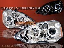 2002-2004 ACURA RSX PROJECTOR HEADLIGHTS 2 HALO CC 03