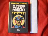 Romanzo IL PRIMO PECCATO MORTALE Lawrence Senders *  BUR n°514