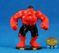 Cake Topper Marvel Universe Superheros AVENGERS RED INCREDIBLE HULK Figure