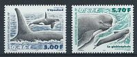 ST PIERRE & MIQUELON 2001 SG854-855 Whales Set Mint MNH