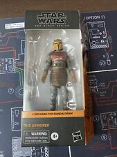 "Star Wars The Black Series The Armorer (Mandalorian) 6"" Action Figure  New"