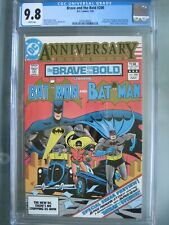Brave and the Bold #200 CGC 9.8 WP 1983 1st app Batman & the Outsiders (Katana)