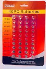 Batteries Assorted  40 Pcs SUPER Alkaline Set