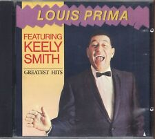 LOUIS PRIMA featuring KEELY SMITH - Greatest hits - CD USATO OTTIME CONDIZIONI