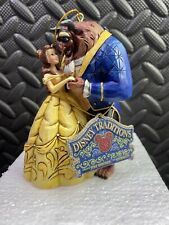DISNEY TRADITIONS BEAUTY AND THE BEAST HANGING ORNAMENT FIGURINE BOXED A28960