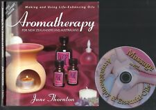 AROMATHERAPY for AUSTRALIANS & New Zealanders June Thornton health + BONUS DVD