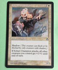 MTG MAGIC Carte SOLTARI CHAMPION Ext. FORTERESSE Stronghold