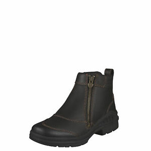 """Ariat 10003562 Barnyard Acid Resistant Side Zip 6"""" Cowgirl Chelsea Riding Boots"""