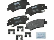 For 2014-2016 Kia Forte Koup Brake Pad Set Rear Bendix 53969BM 2015 EX
