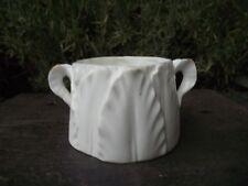 Antique Royal Worcester Acanthus or Fern Leaf Porcelain Sugar Bowl Rd No 211929
