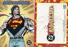 1993 SKYBOX BLOODLINES THE ONE TRUE SUPERMAN EMBOSED PROMO CARD