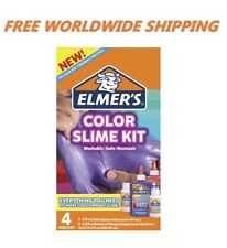 Elmer's Color Slime Kit Color Glue 4 Piece Kit FREE WORLDWIDE SHIPPING