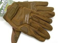 MECHANIX WEAR Size Large L Coyote Tan M-PACT Tactical Gloves New! MPT-72-010